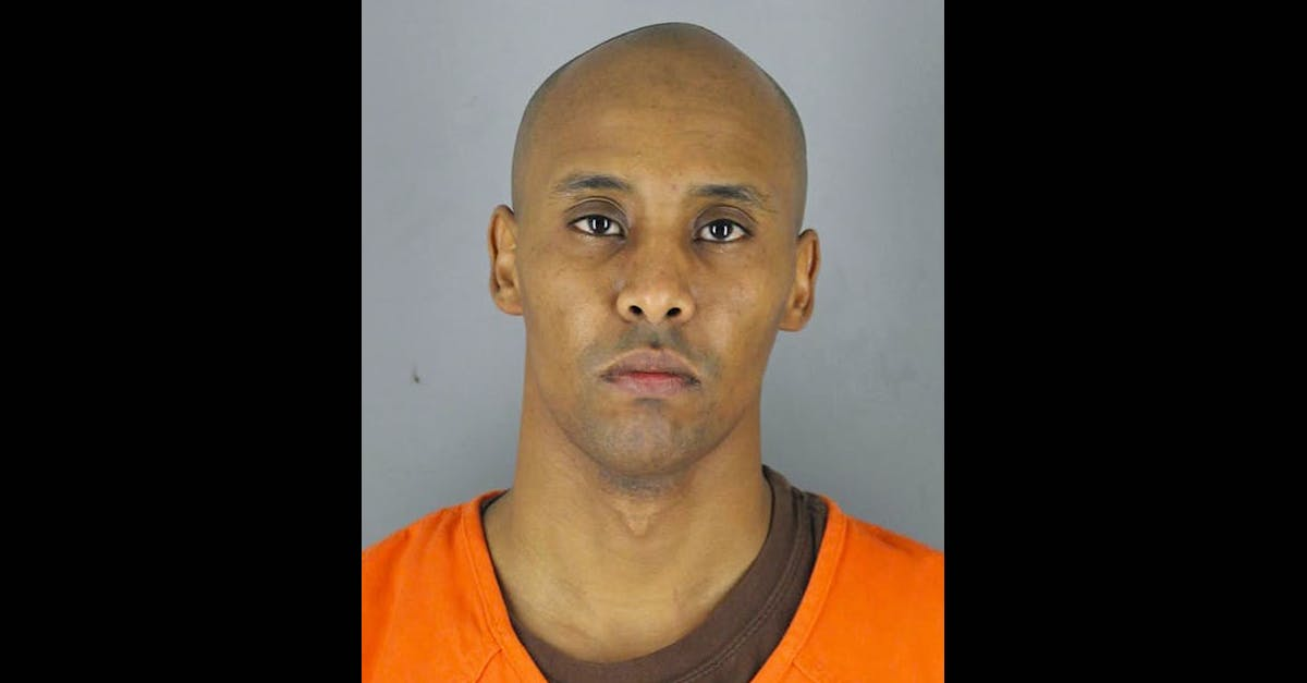 Former Minneapolis police officer Mohamed Noor appears in a Hennepin County, Minn. jail mugshot.