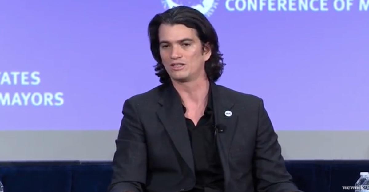 WeWork cofounder Adam Neumann in 2018