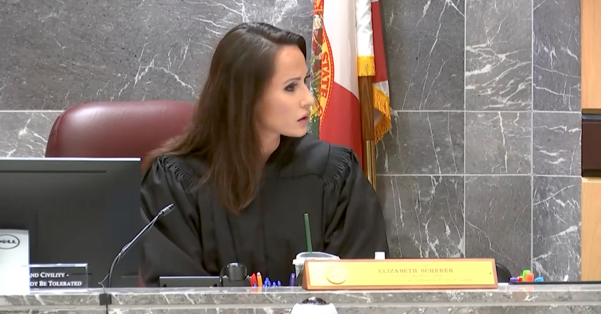 Judge Elizabeth Scherer appeared visibly stunned when defense attorneys for Nikolas Cruz suggested he needed colored pencils to help calm his nerves.