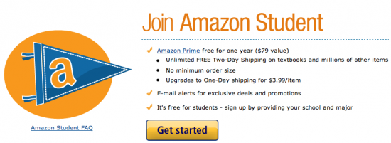 amazon prime free for a year