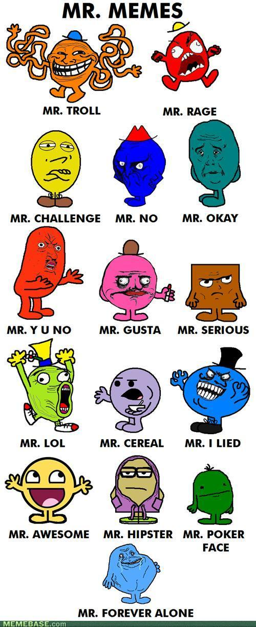 Mr Men Turned Into Rage Faces Mr Memes The Mary Sue Make your own images with our meme generator or animated gif maker. mr men turned into rage faces mr