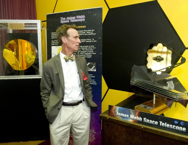Bill Nye visits Goddard Space Flight Center