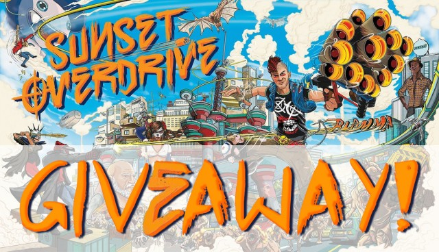 sunset overdrive giveaway