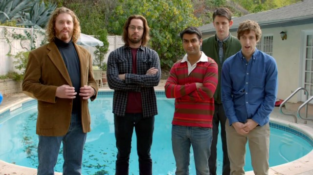 The cast oh HBO's Silicon Valley. Not pictured: Amanda Crew, who plays the show's sole recurring female character (and who also is not a programmer)