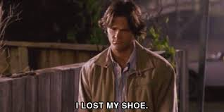 Oh, honey. It's okay. We'll find that shoe together.