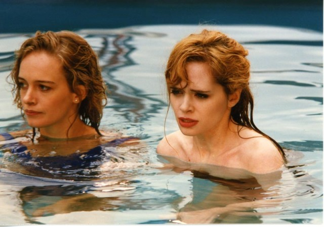 Unbelievable Truth-Edie Falco and Adrienne Shelly- copyrighted Possible Films