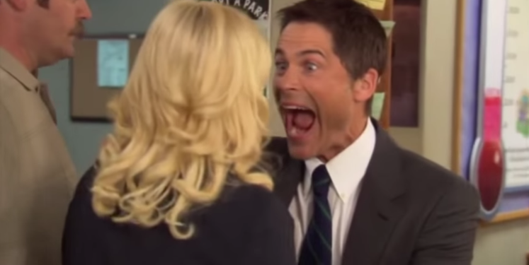 Chris Traeger says watch.