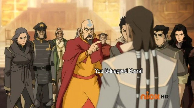 you kidnapped korra