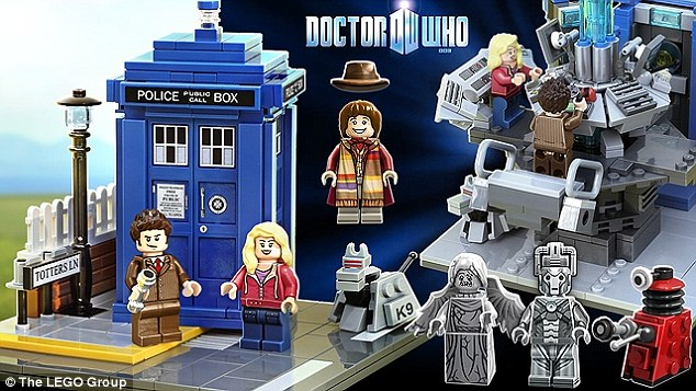 dr. who lego tennant