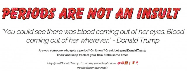 periods are not an insult
