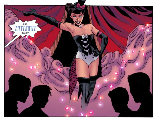 Ted Naifeh art for DC Bombshells #2