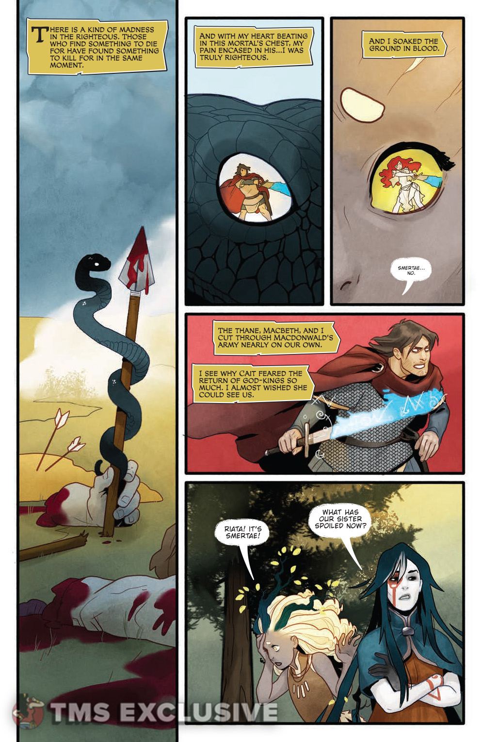 Toil and Trouble Issue 2 Page 3