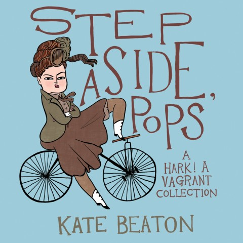 Kate Beaton Step Aside Pops cover