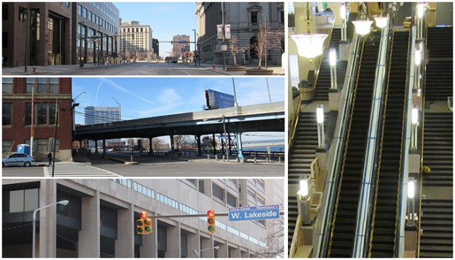 Some of the filming locations we walked to! - Photos by E. McAuley