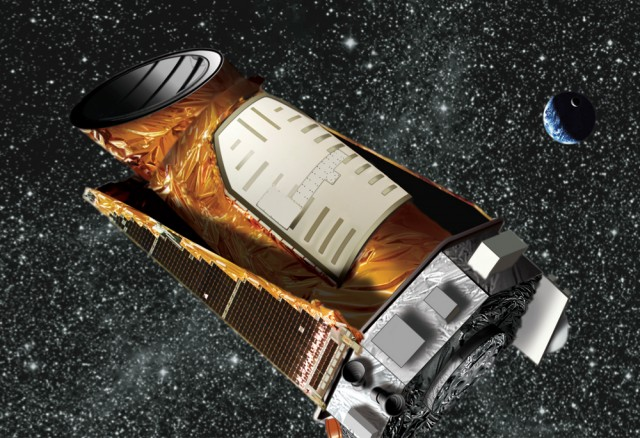 Kepler spacecraft artist render