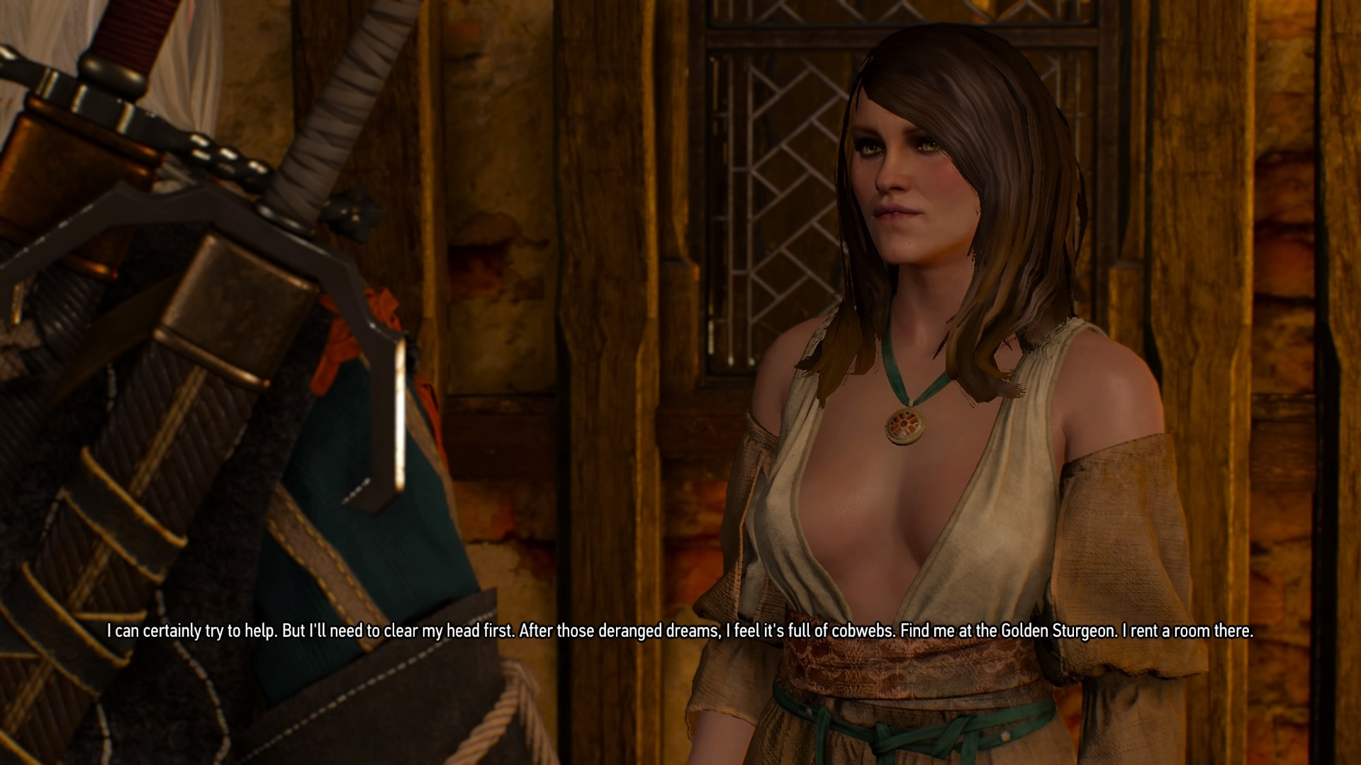 """Corinne Tilly is one of many secondary female characters who suffer from """"hot boob disease"""" in The Witcher universe."""