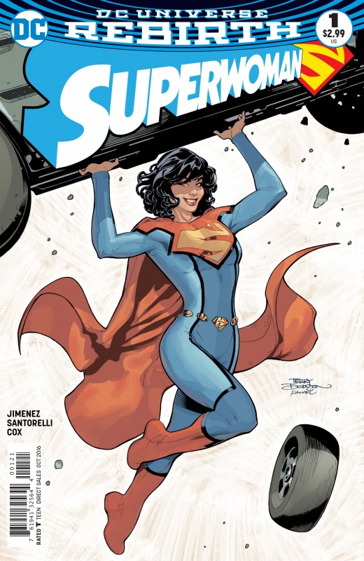 Superwoman #1 Variant by Rachel and Terry Dodson