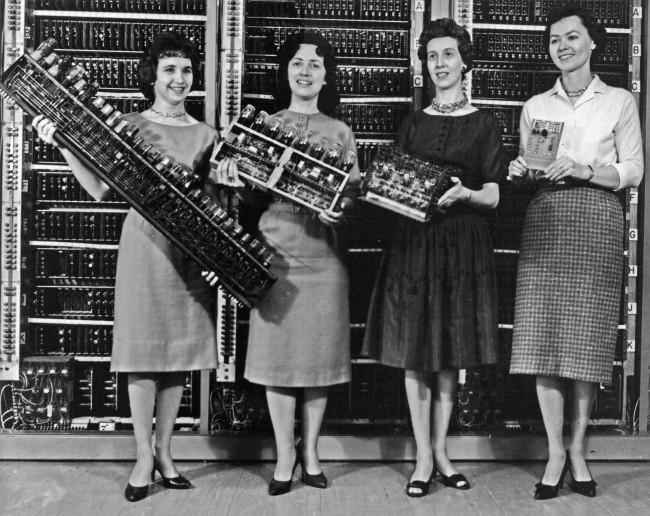 The ENIAC programmers