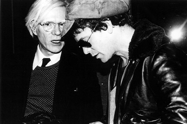 Andy Warhol & Lou Reed, Studio 54 party - 1978 This iconic photo was taken by Rose Hartman, subject of Otis Mass' documentary The Incomparable Rose Hartman, screening at the 2016 Bentonville Film Festival. PHOTO CREDIT: Rose Hartman / The Artists Company