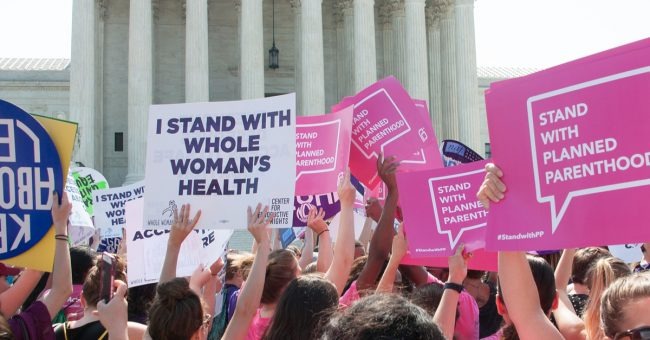planned parenthood protest