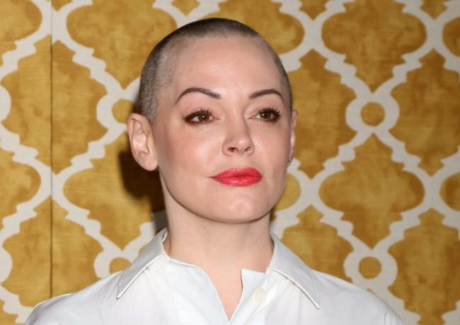 rose mcgowan by shutterstock