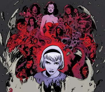 cover art of chilling adventures of sabrina. credit: Archie comics/Robert Hack