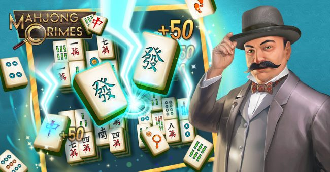 image: Spil Games An image from Mahjong Crimes