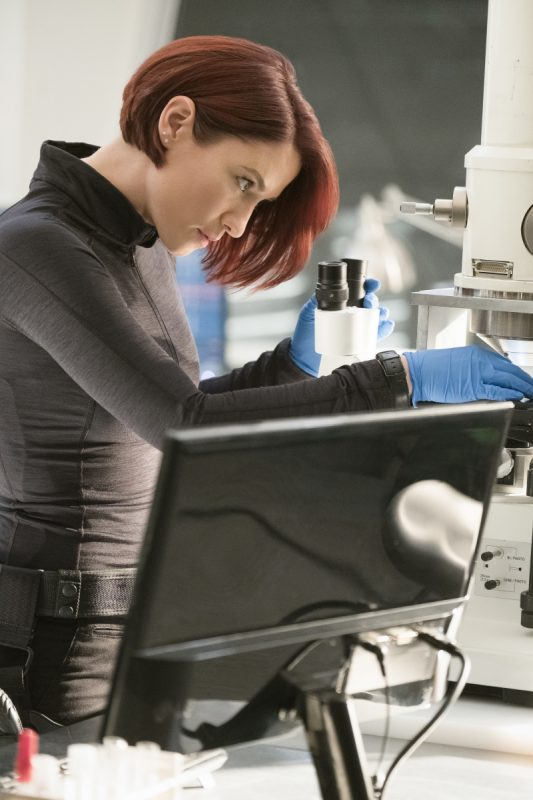 "image: Michael Courtney/The CW Supergirl -- ""Wake Up"" Pictured: Chyler Leigh as Alex Danvers -- © 2017 The CW Network, LLC. All Rights Reserved"
