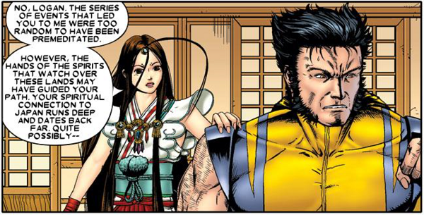 Panel from Wolverine: Soultaker