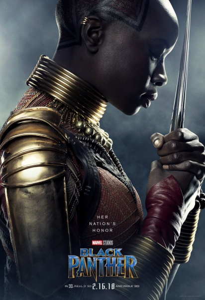 Danai Gurira as Okoye: