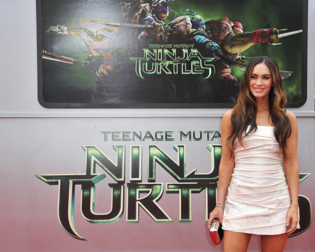 Megan Fox at TMNT