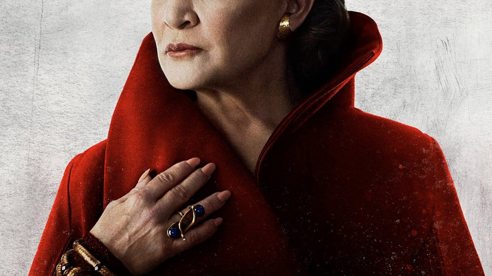 Leia poster for Star Wars: The Last Jedi