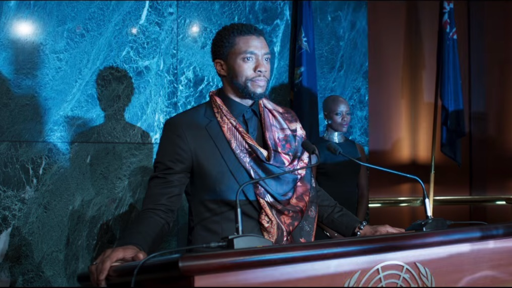 image: Marvel Chadwick Boseman as Black Panther