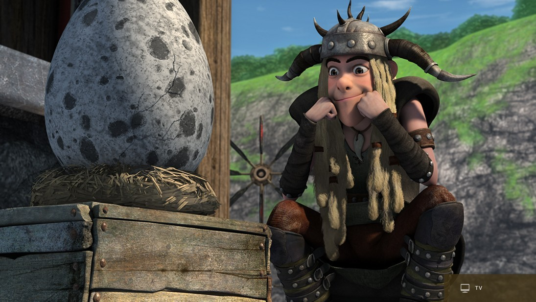 Tuffnut in Dreamworks' Dragons franchise