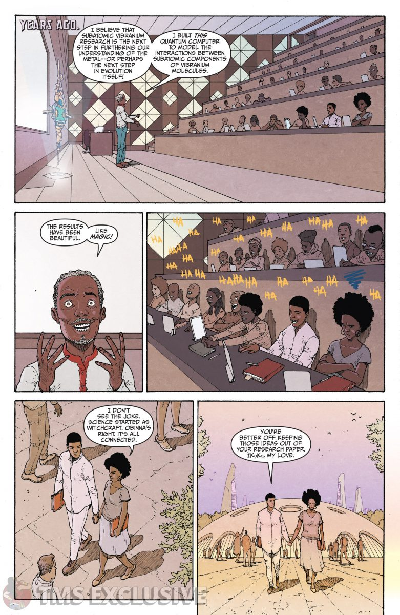 image: Marvel Comics/Comixology Black Panther Long Live the King #5 - Preview 3 Nnedi Okorafor Andre Araujo Marvel