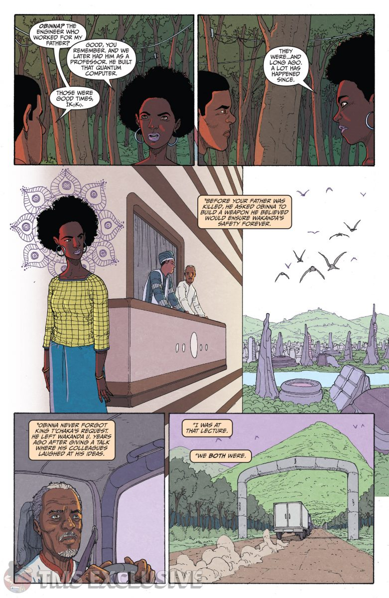 image: Marvel Comics/Comixology Black Panther Long Live the King #5 - Preview 5 Nnedi Okorafor Andre Araujo Marvel