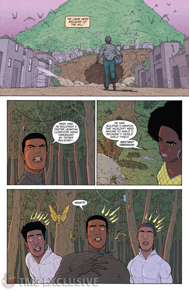 image: Marvel Comics/Comixology Black Panther Long Live the King #5 - Preview 6 Nnedi Okorafor Andre Araujo Marvel
