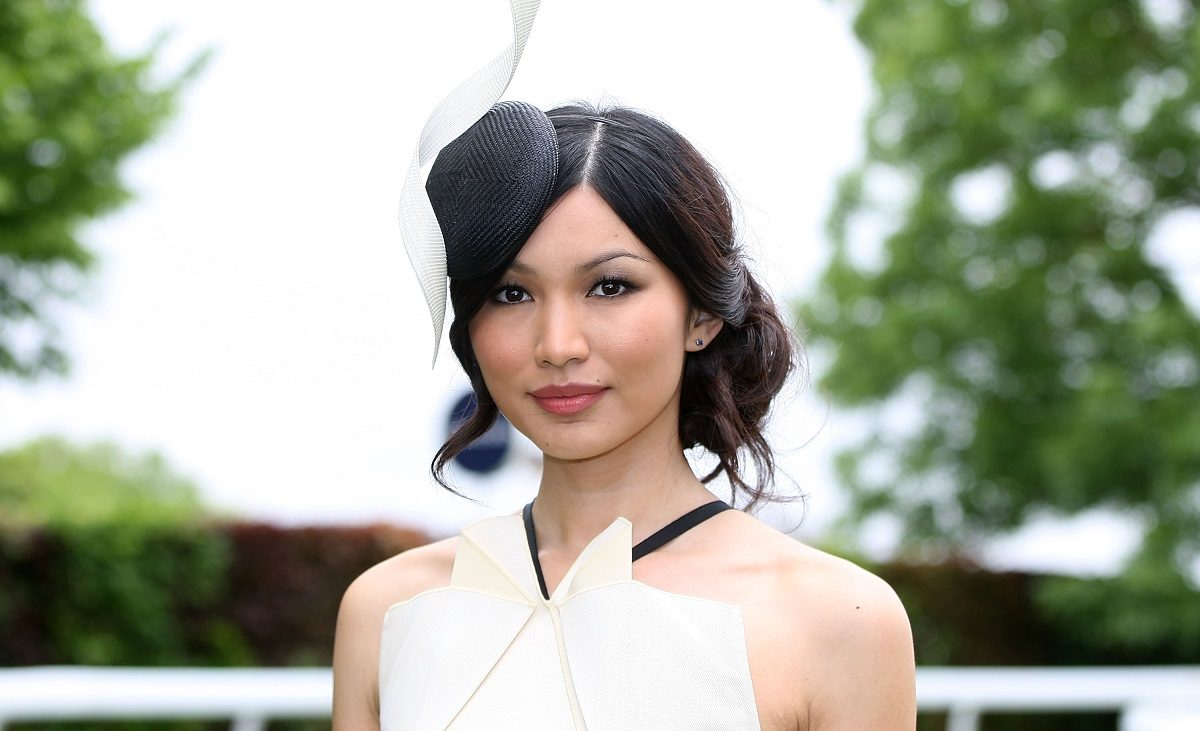 Gemma Chan at The Derby Festival in Epsom, UK. (Photo by Danny E. Martindale/Getty Images)