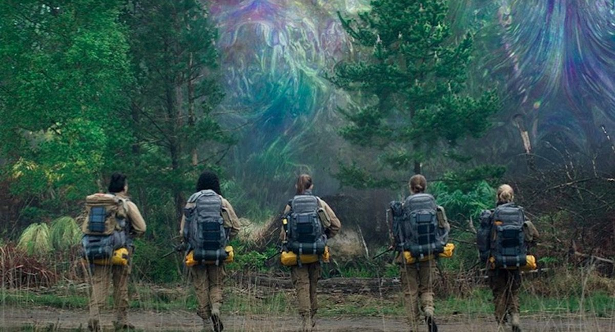 The Shimmer in the movie annihilation