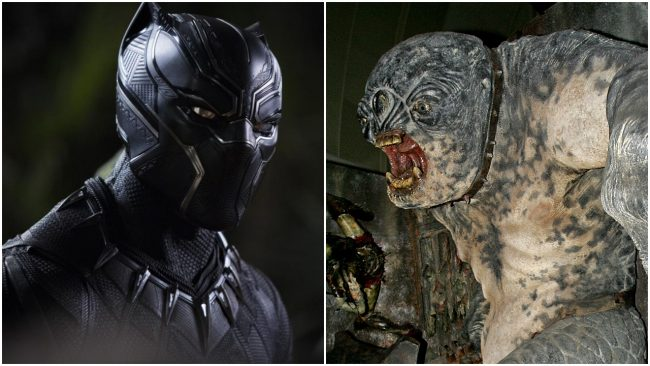 Marvel's Black Panther and Troll
