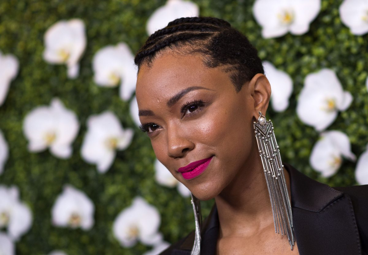 Actress Sonequa Martin-Green attends The CBS EyeSpeak Summit at the Pacific Design Center on March 14, 2018, in West Hollywood, California.