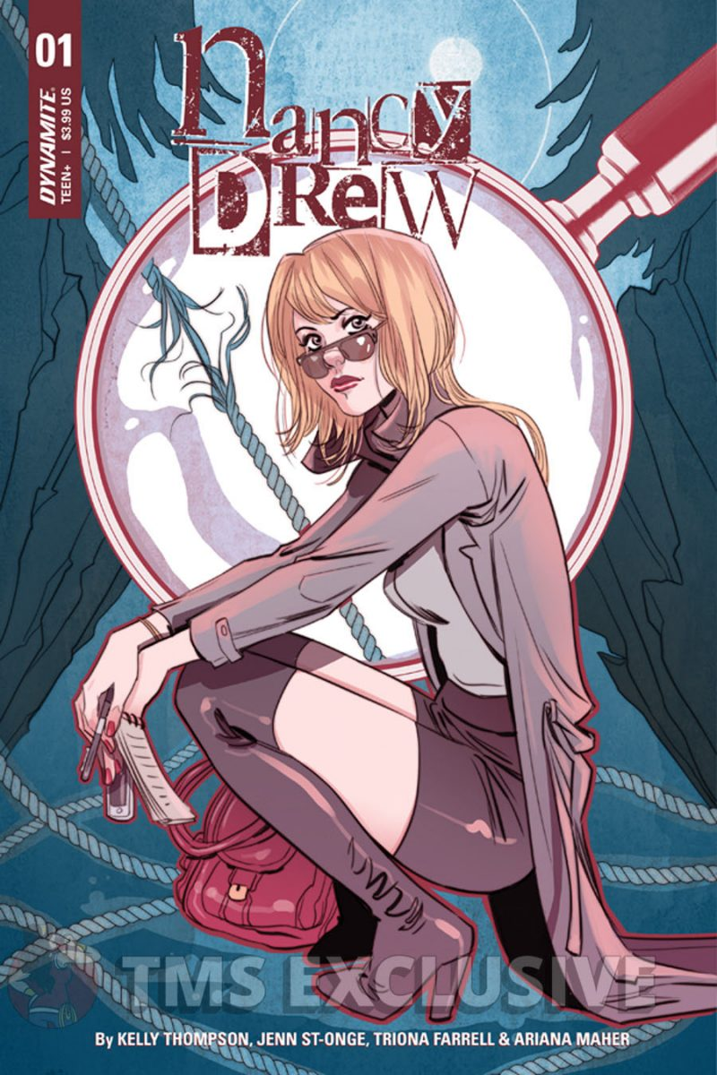 Nancy Drew Cover B - by Marguerite Sauvage