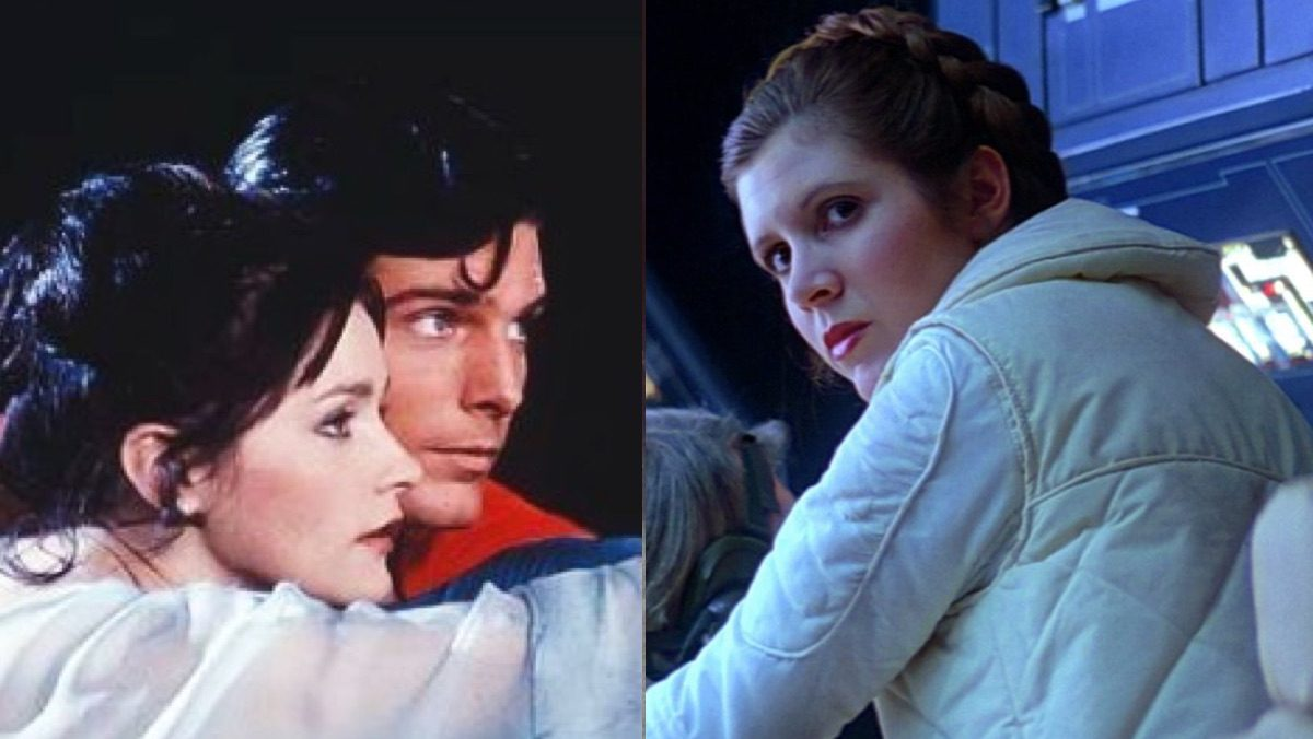 Superman, Lois Lane, and Princess Leia in Superman and Empire Strikes Back