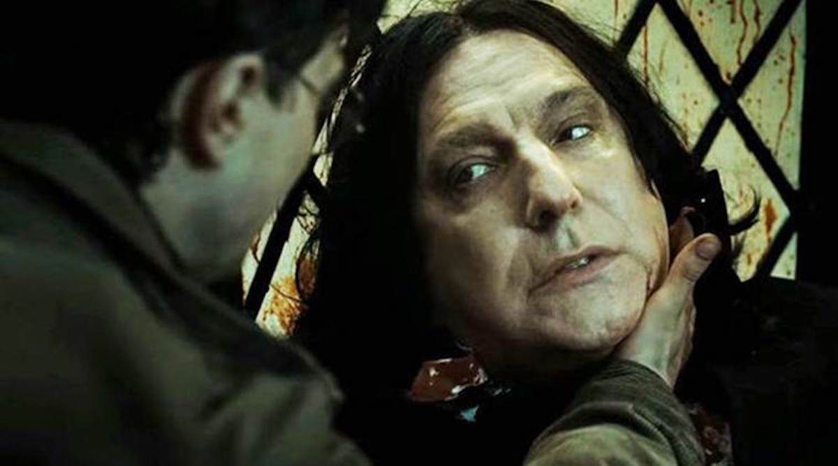 Professor Snape and Harry Potter