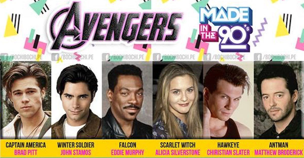 Avengers if Cast in the 90s