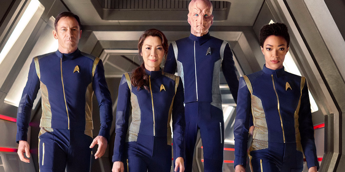 The cast of Star Trek Discovery