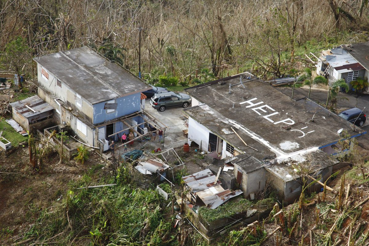 CBP Conducts Search and Rescue in Mountains of Puerto Rico after Hurricane Maria