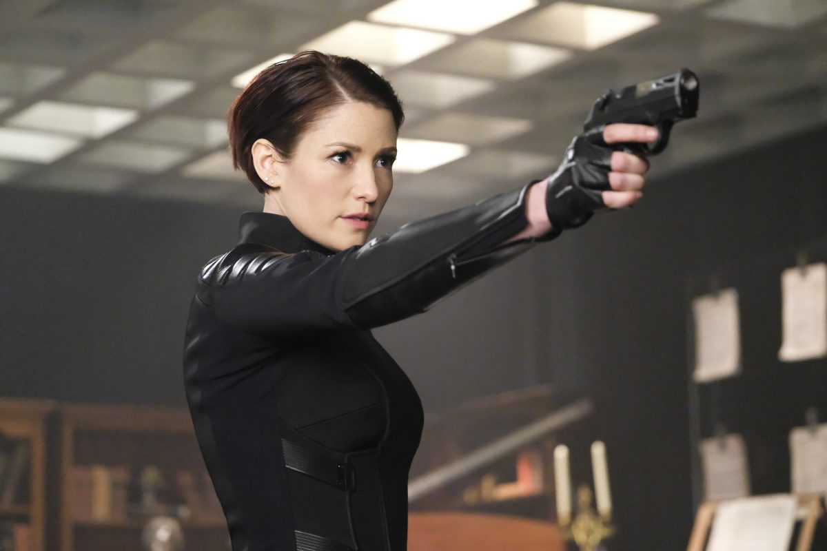 """Supergirl -- """"Shelter From the Storm"""" -- Pictured: Chyler Leigh as Alex --© 2018 The CW Network, LLC. All rights reserved."""
