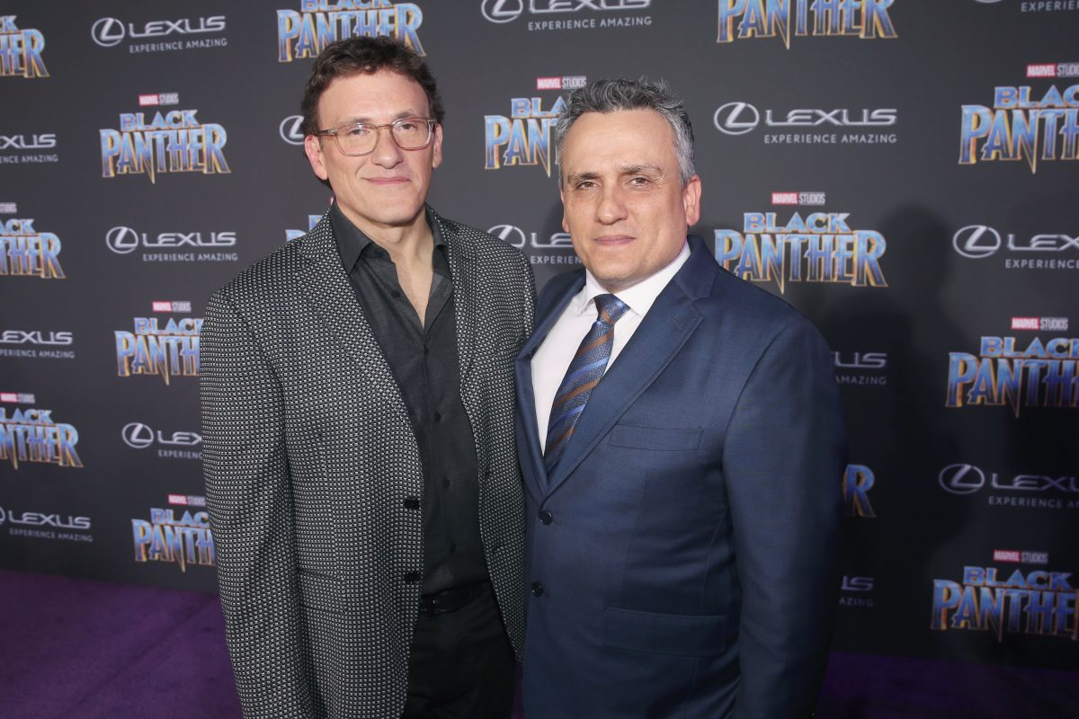 Anthony and Joe Russo at Black Panther Premiere