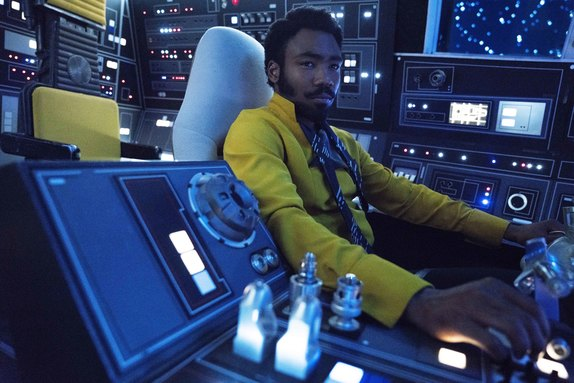Donald Glover as Lando Calrissian in 'Solo: A Star Wars Story'